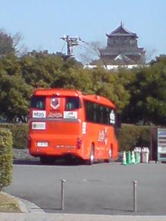 広島城に…